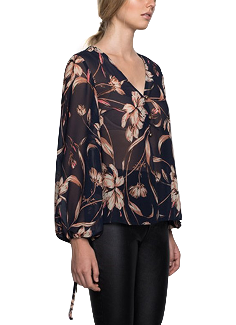 Wish Painted Floral Blouse | Buy Online at Mode.co.nz