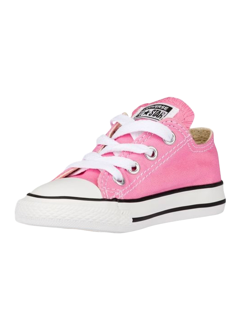 Converse Infant Pink Low Tops Buy Online At Mode Co Nz
