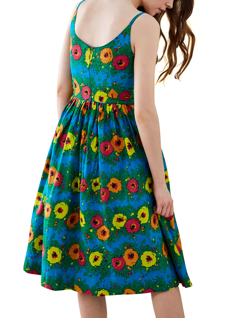 3483c6257598 ... Dresses Emily and Fin Enid Bright Floral Pleated Summer Dress. 68 of  238. Save 25%